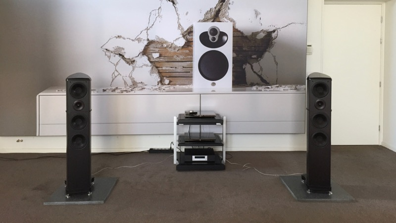 Wilson Benesch A.C.T. One Evolution - Devialet 400 - Crystal Cable
