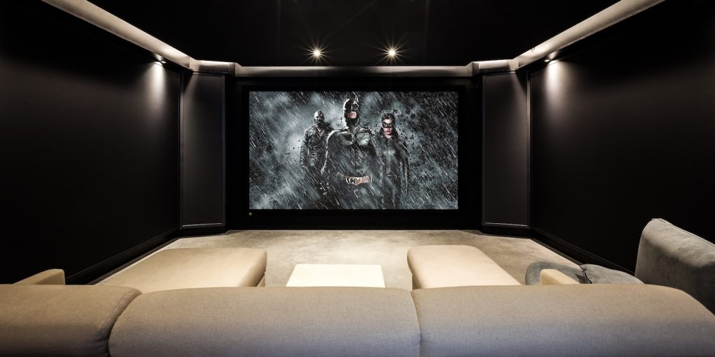Dark Knight Cinema - JBL Synthesis Four