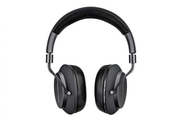 Bowers & Wilkins PX Soft Gray front