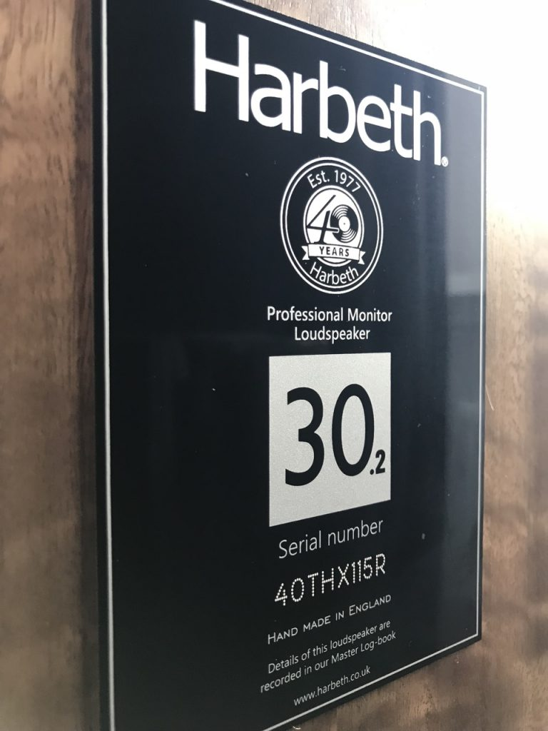 Harbeth M30.2 40th Anniversary