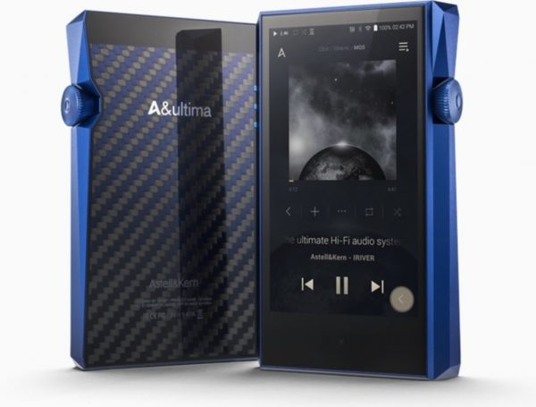 Astell & Kern SP1000M back - front