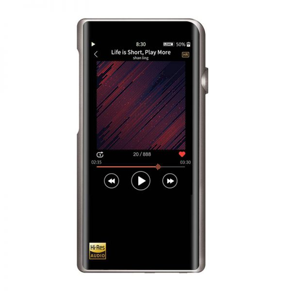 shanling m5s portable music player front